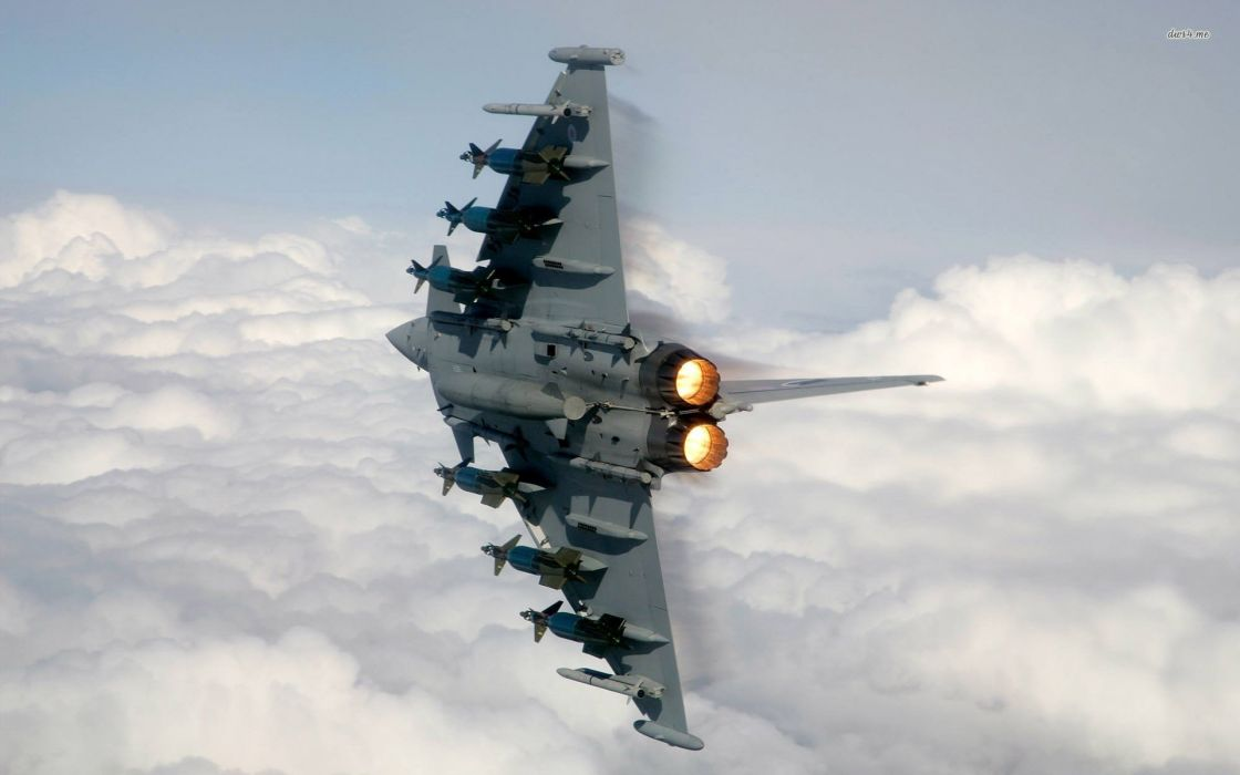 Rafale Fighter Jet military airplane plane fighter (20) wallpaper