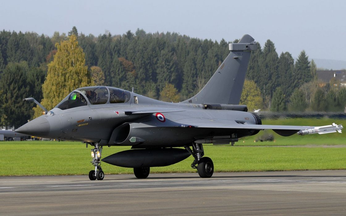 Rafale Fighter Jet military airplane plane fighter (24) wallpaper