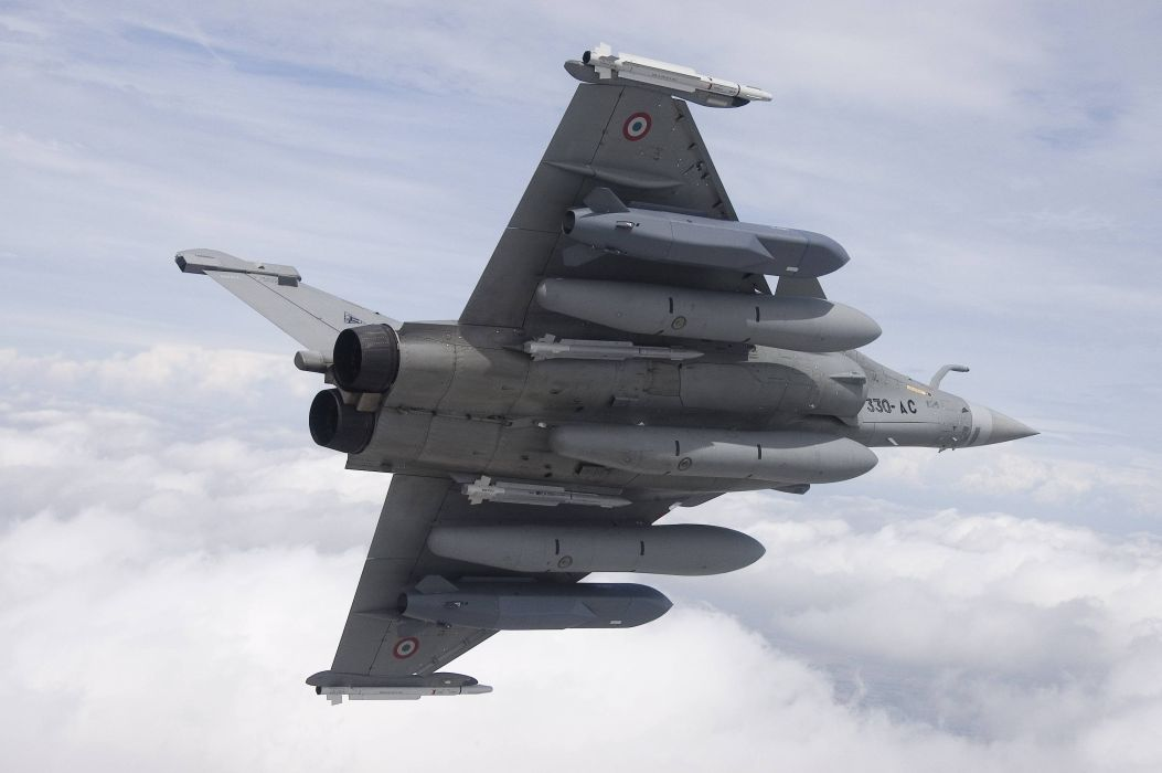 Rafale Fighter Jet military airplane plane fighter (27) wallpaper