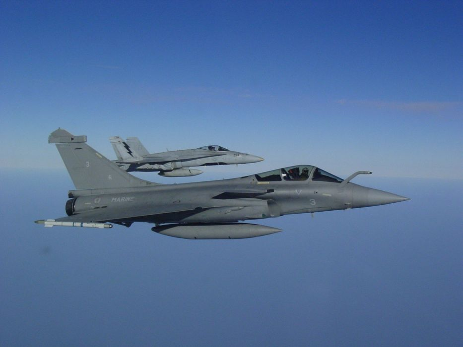 Rafale Fighter Jet military airplane plane fighter (37) wallpaper