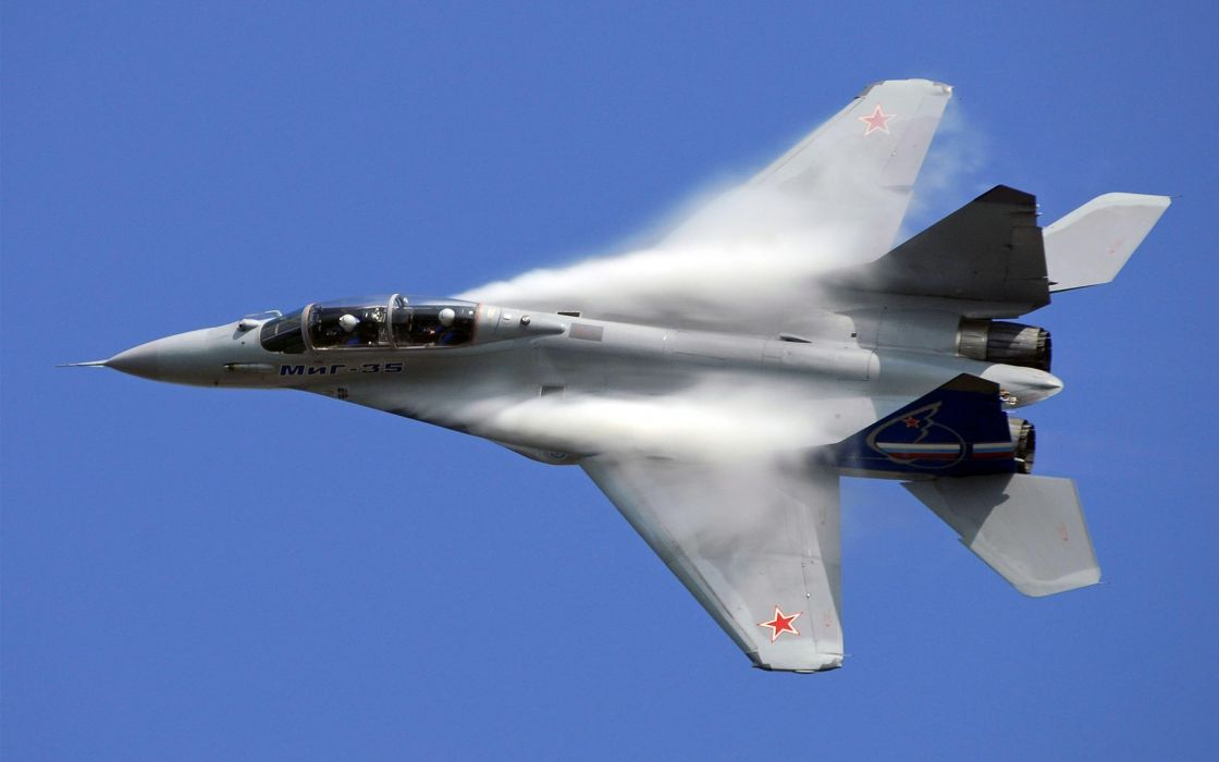 MIG-35 fighter jet russian airplane plane military mig (4) wallpaper