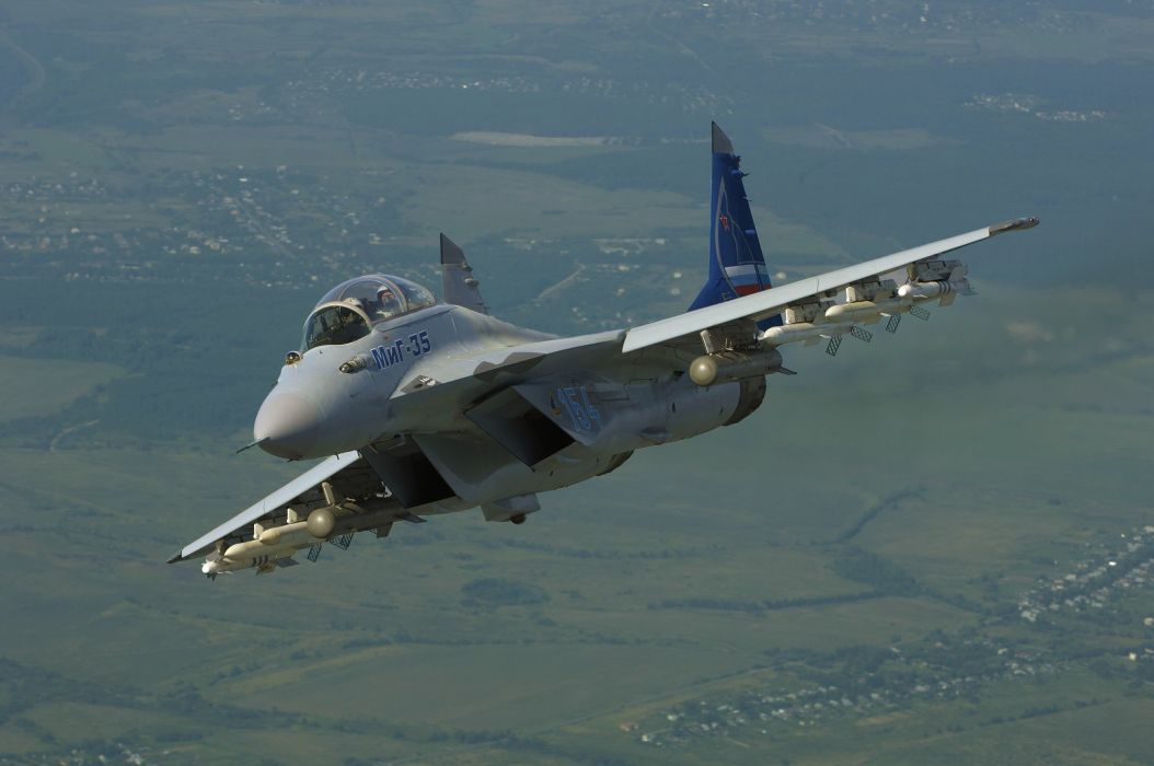 MIG-35 fighter jet russian airplane plane military mig (1) wallpaper