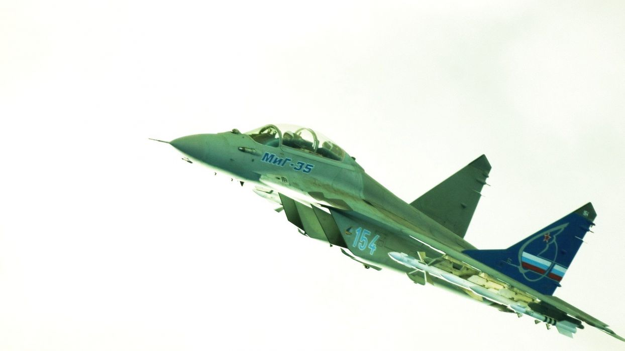 MIG-35 fighter jet russian airplane plane military mig (7) wallpaper
