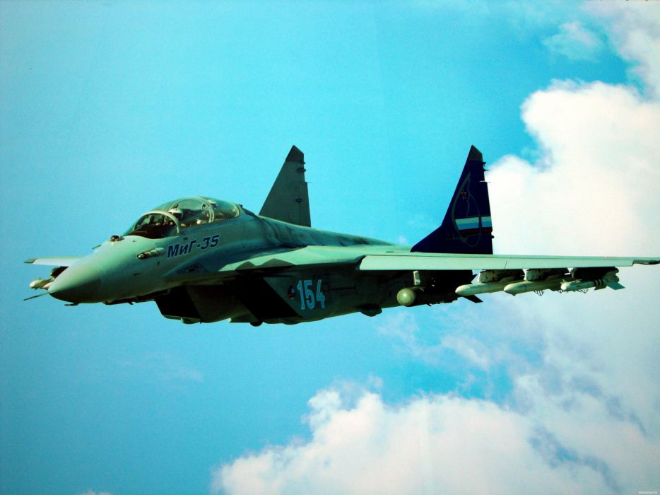 MIG-35 fighter jet russian airplane plane military mig (6) wallpaper