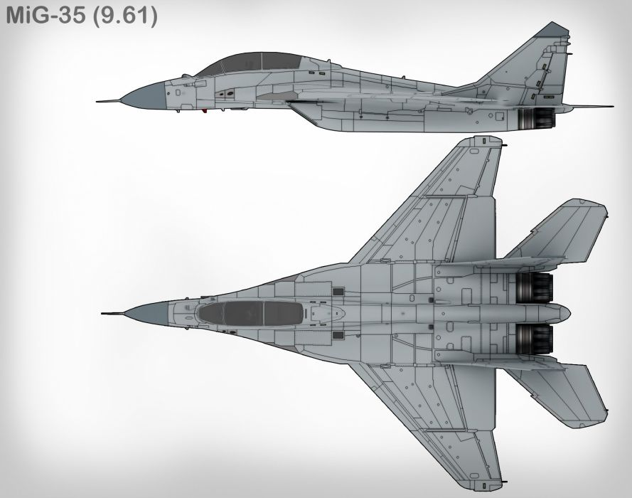 MIG-35 fighter jet russian airplane plane military mig (10) wallpaper