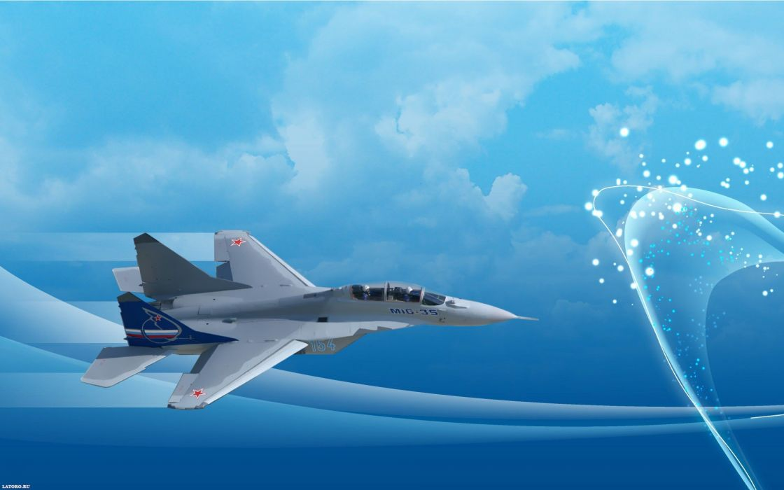 MIG-35 fighter jet russian airplane plane military mig (22) wallpaper