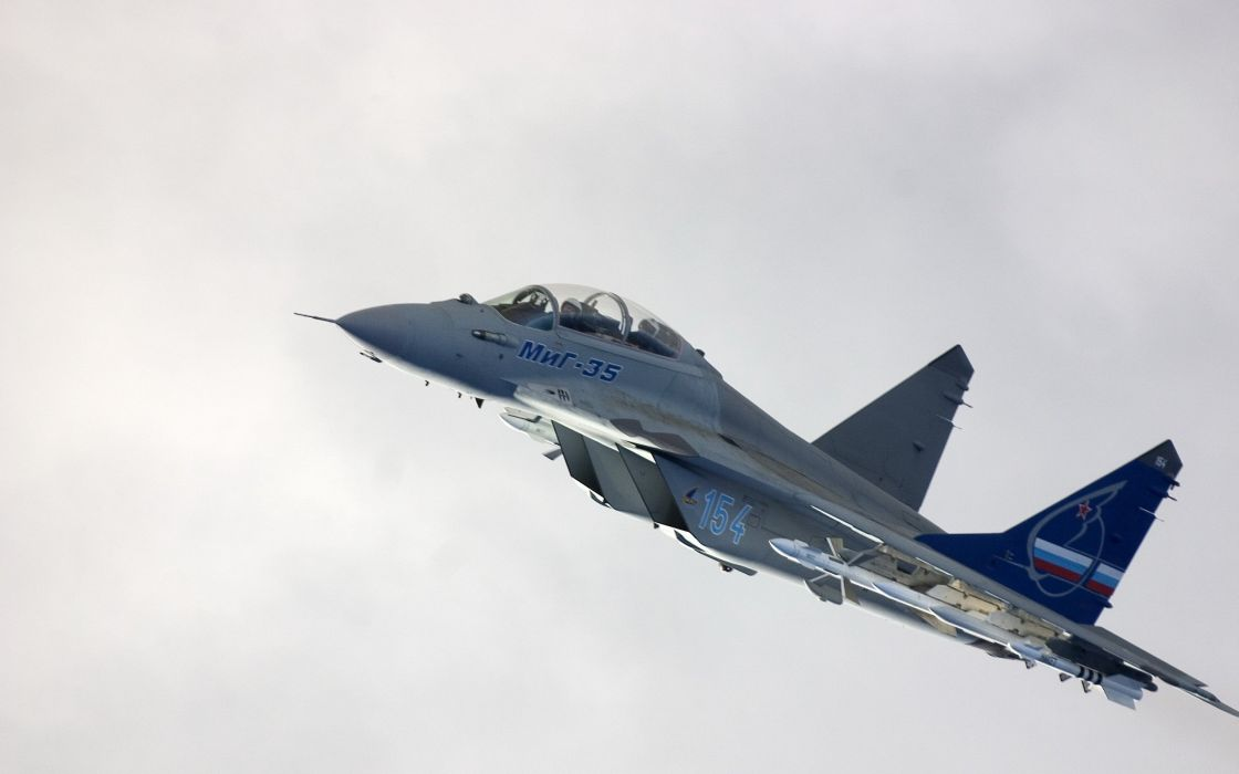 MIG-35 fighter jet russian airplane plane military mig (24) wallpaper