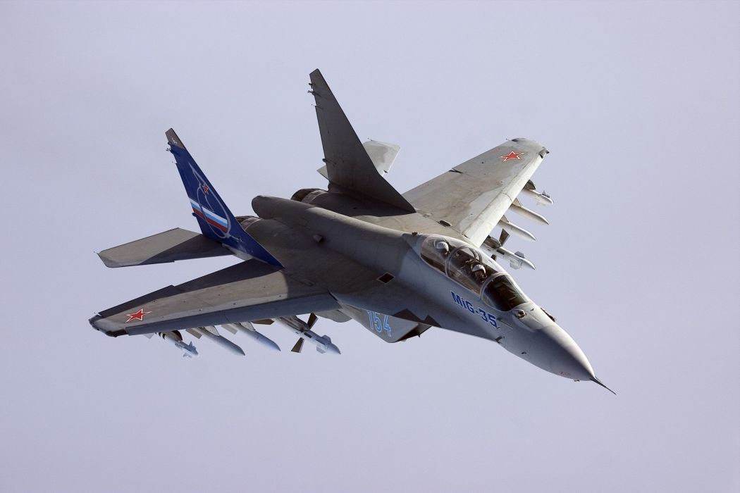 MIG-35 fighter jet russian airplane plane military mig (25) wallpaper