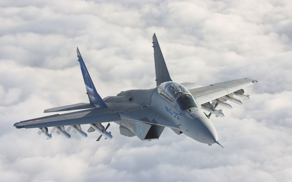 MIG-35 fighter jet russian airplane plane military mig (26) wallpaper