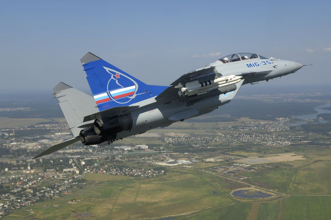 MIG-35 fighter jet russian airplane plane military mig (27) wallpaper