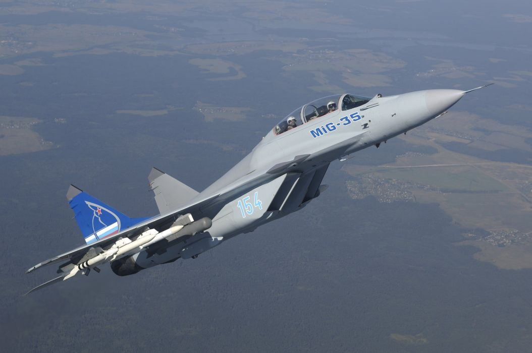 MIG-35 fighter jet russian airplane plane military mig (30) wallpaper
