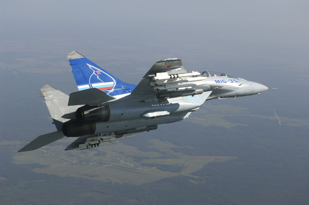 MIG-35 fighter jet russian airplane plane military mig (31) wallpaper