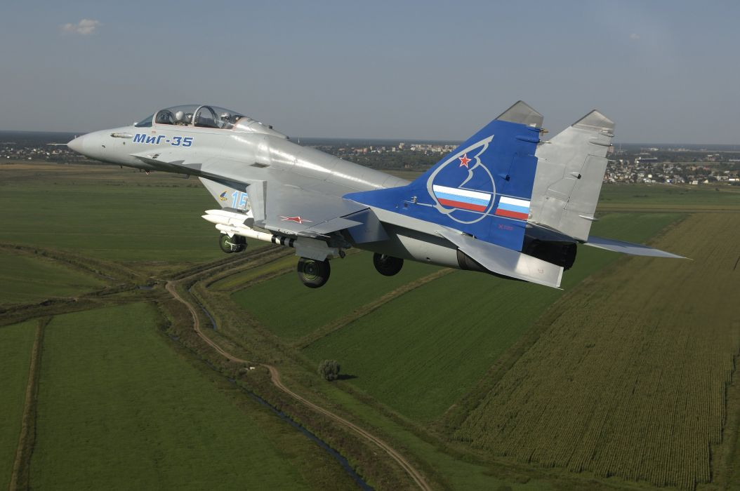 MIG-35 fighter jet russian airplane plane military mig (32) wallpaper