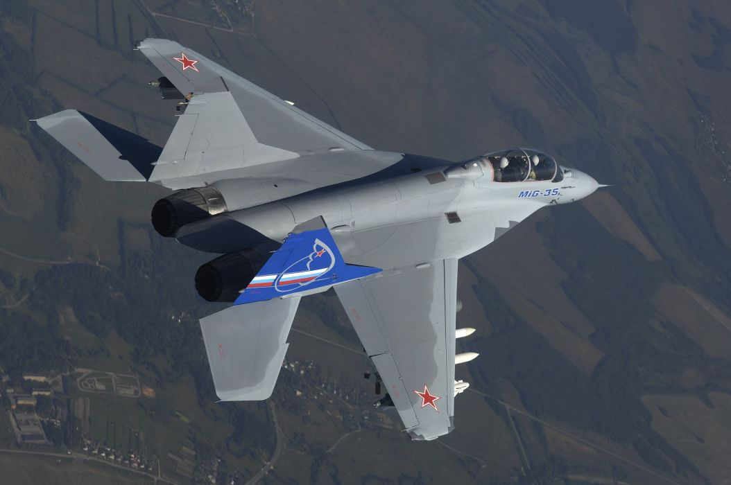 MIG-35 fighter jet russian airplane plane military mig (33) wallpaper