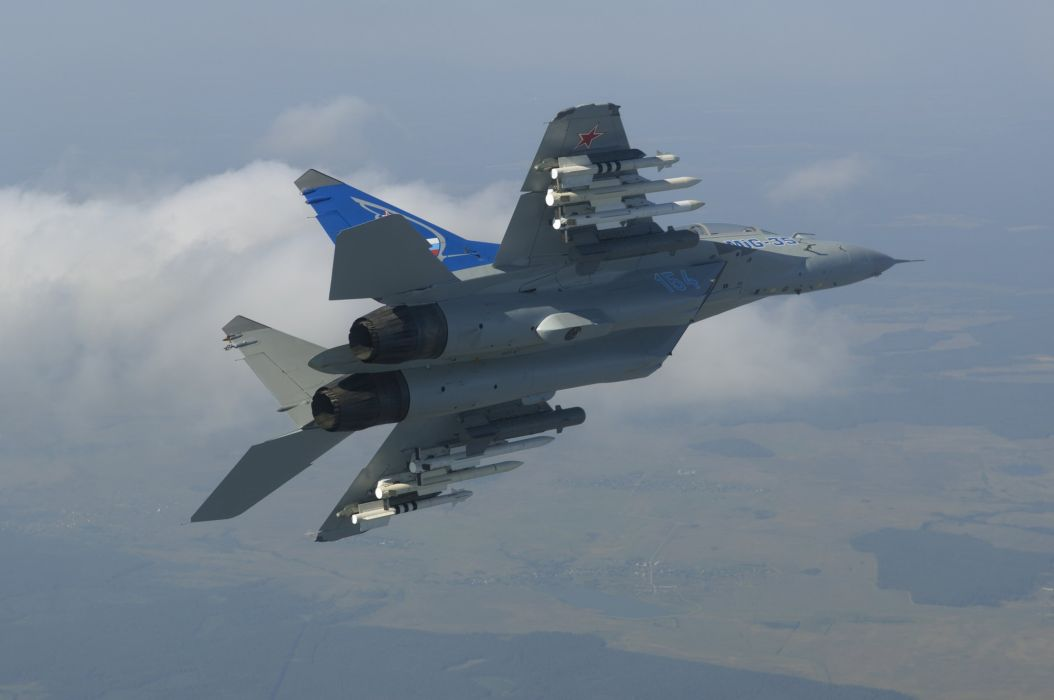 MIG-35 fighter jet russian airplane plane military mig (37) wallpaper