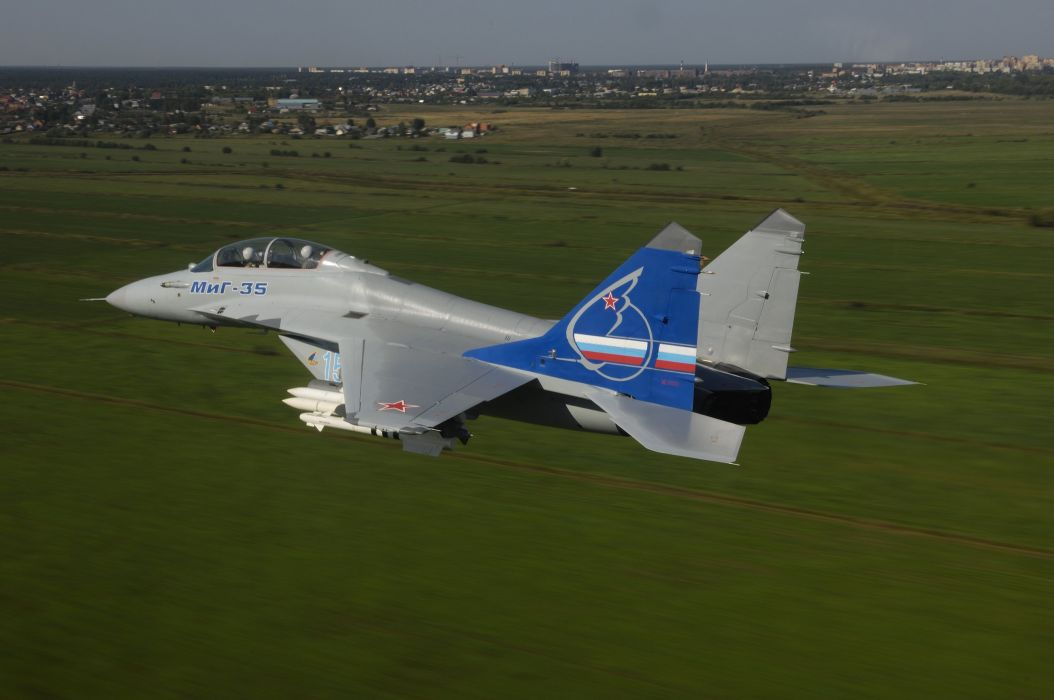 MIG-35 fighter jet russian airplane plane military mig (39) wallpaper