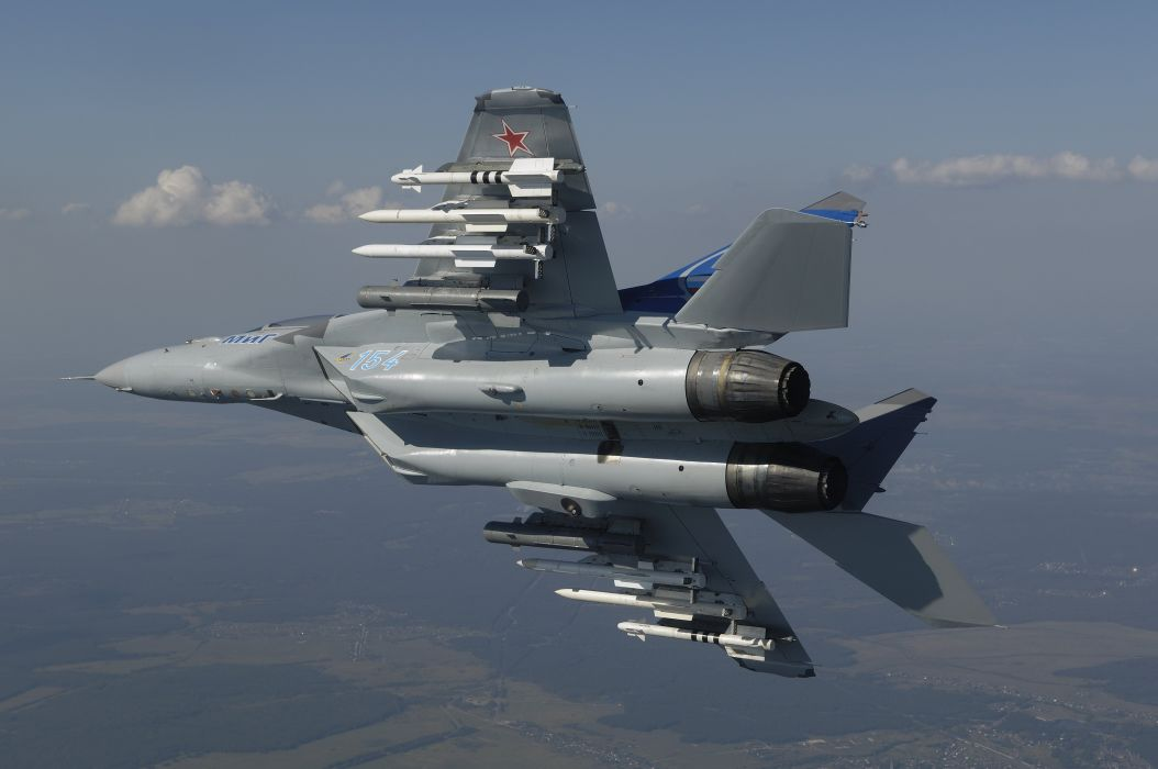 MIG-35 fighter jet russian airplane plane military mig (34) wallpaper