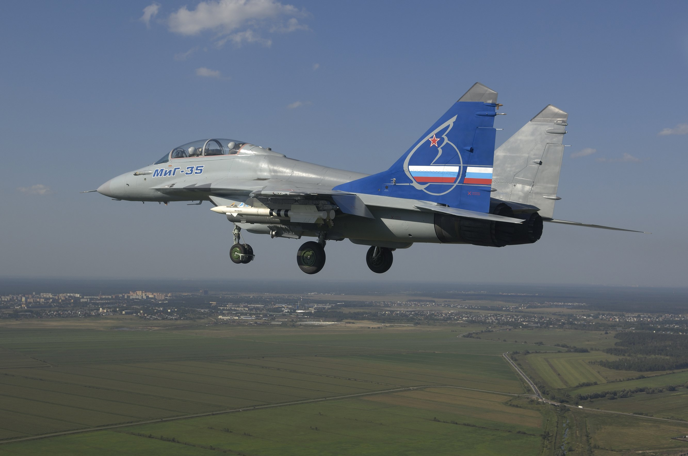 MIG-35 Fighter Jet Russian Airplane Plane Military Mig (40