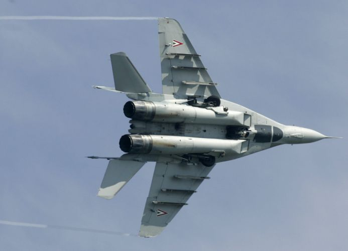MiG-29 fighter jet military russian airplane plane mig (3) wallpaper