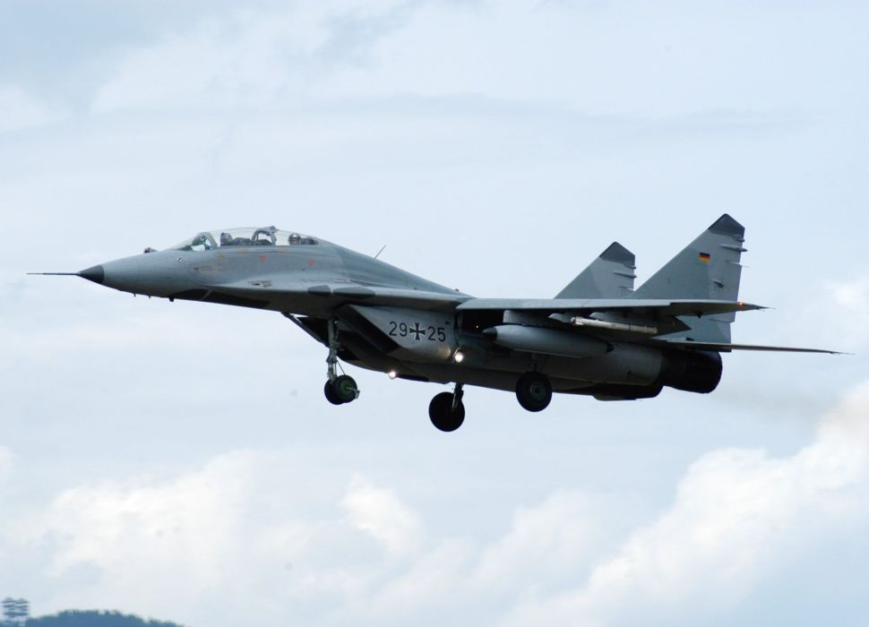 MiG-29 fighter jet military russian airplane plane mig (5) wallpaper