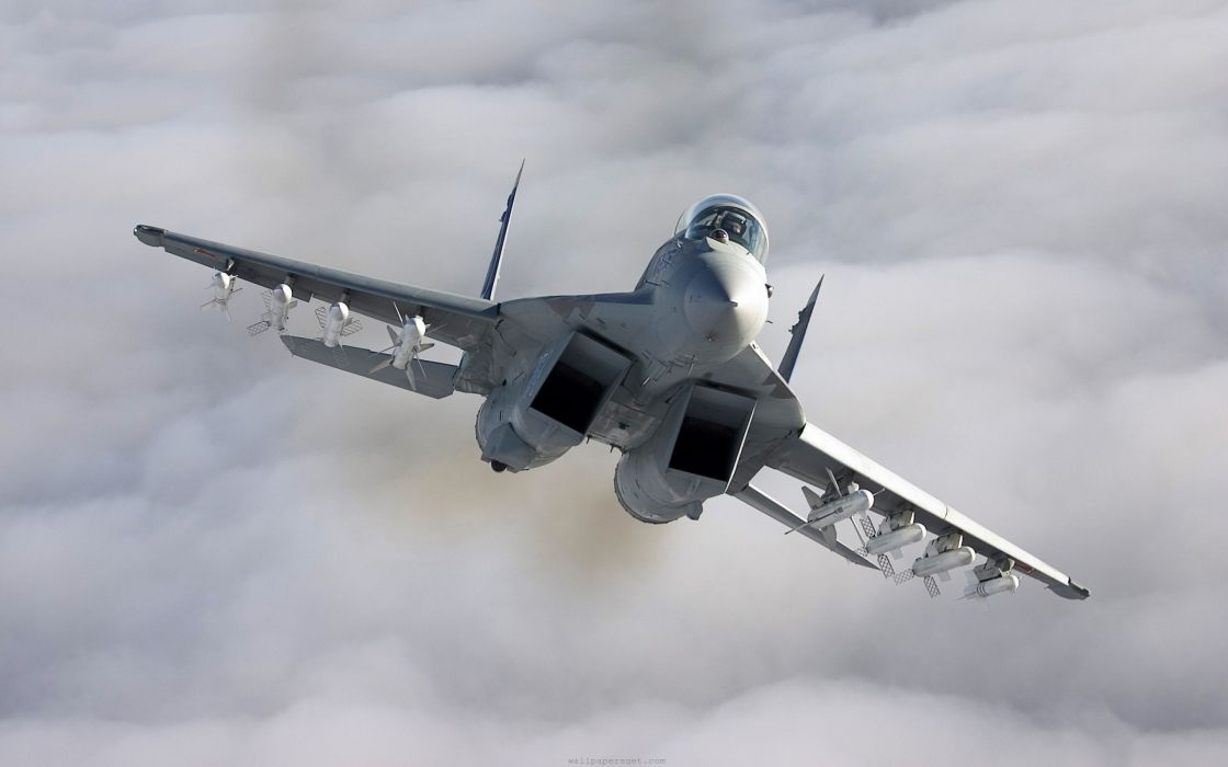 MiG-29 fighter jet military russian airplane plane mig (6) wallpaper