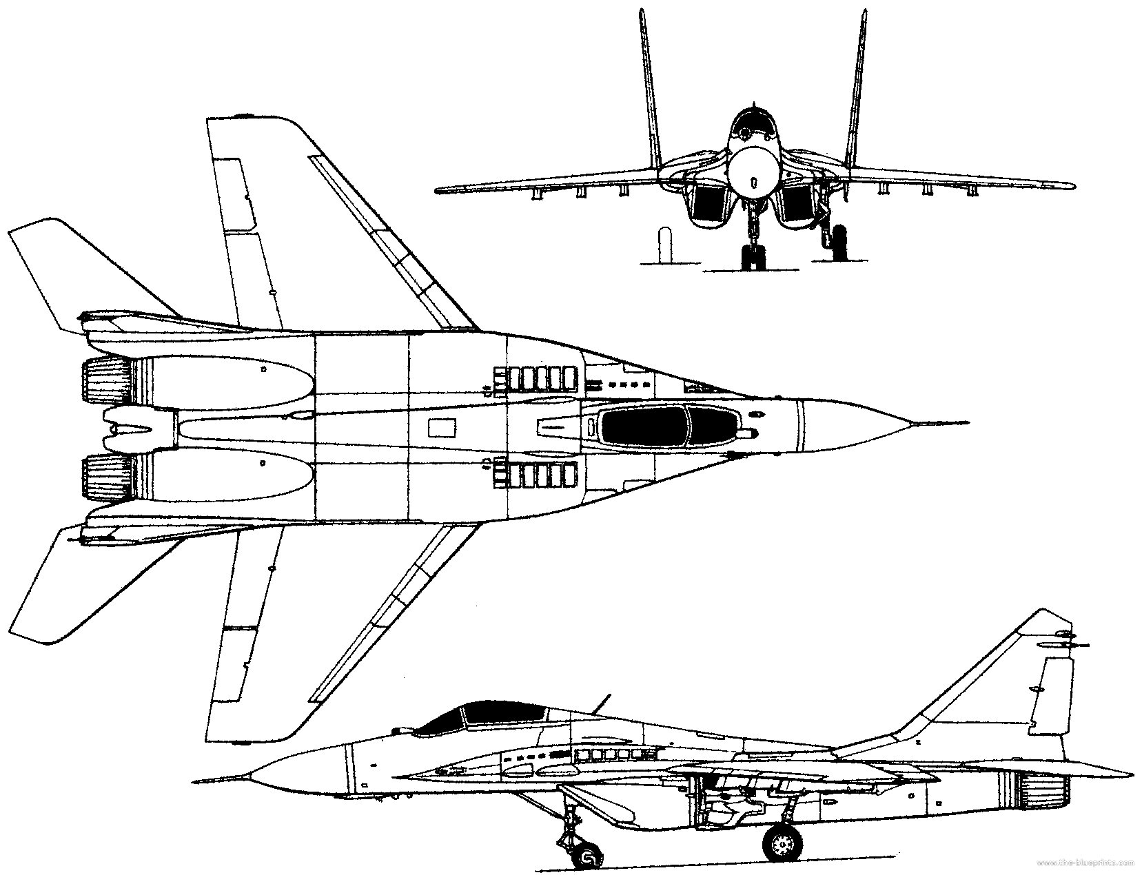 Line Art Jet : Mig fighter jet military russian airplane plane