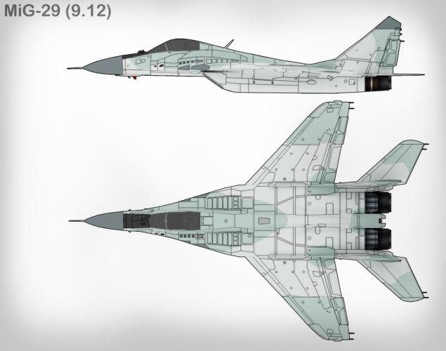 MiG-29 fighter jet military russian airplane plane mig (18) wallpaper