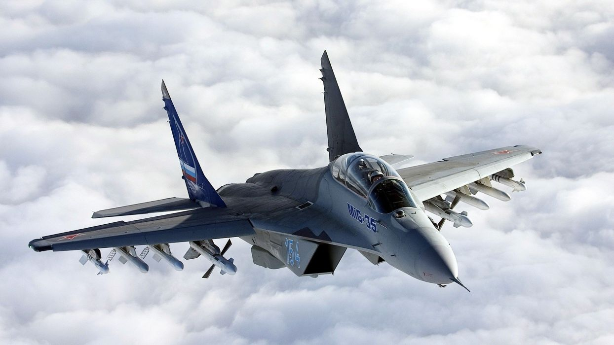MiG-29 fighter jet military russian airplane plane mig (25) wallpaper