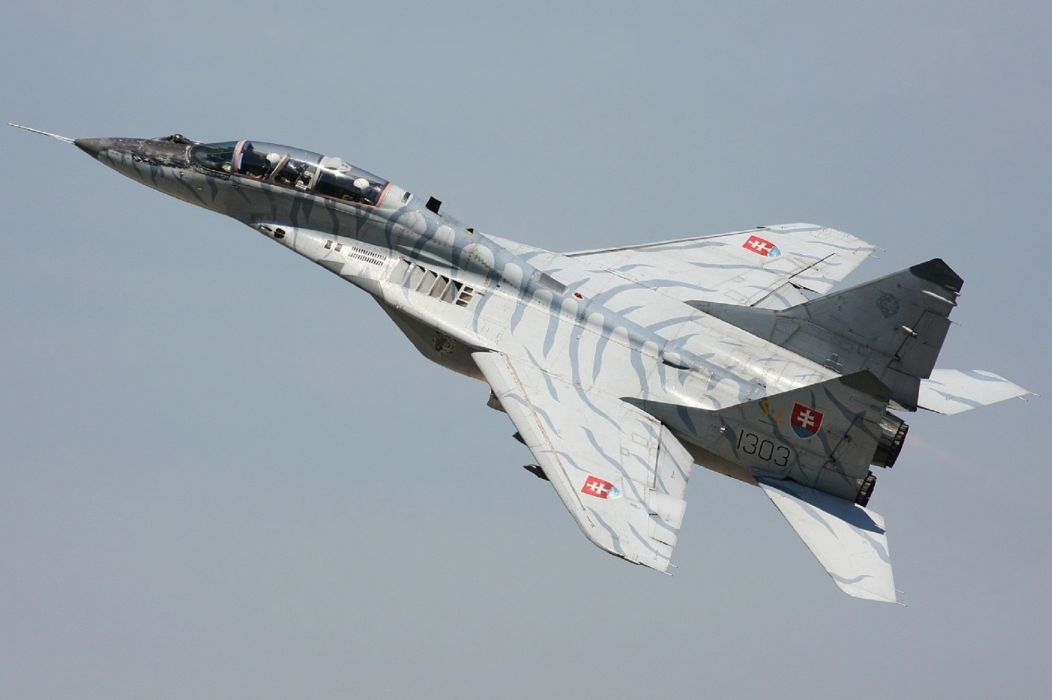 MiG-29 fighter jet military russian airplane plane mig (31) wallpaper