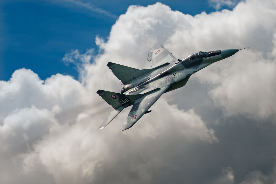 MiG-29 fighter jet military russian airplane plane mig (32) wallpaper
