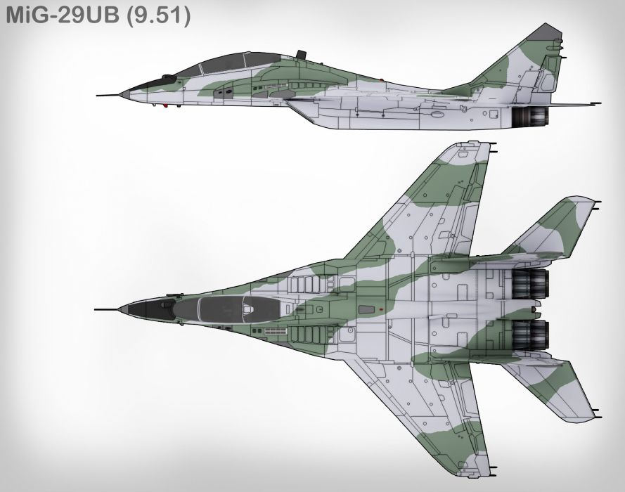 MiG-29 fighter jet military russian airplane plane mig (33) wallpaper