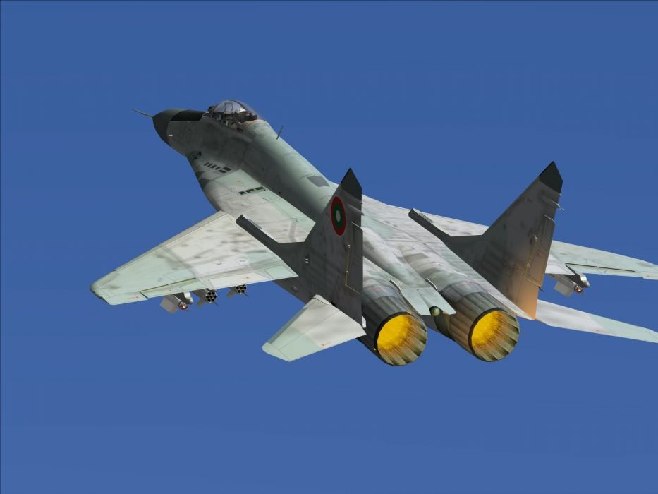 MiG-29 fighter jet military russian airplane plane mig (41) wallpaper