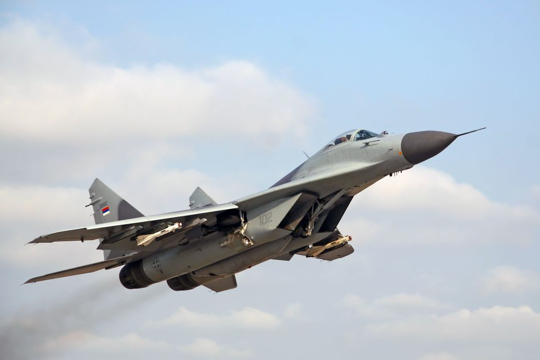 MiG-29 fighter jet military russian airplane plane mig (42) wallpaper