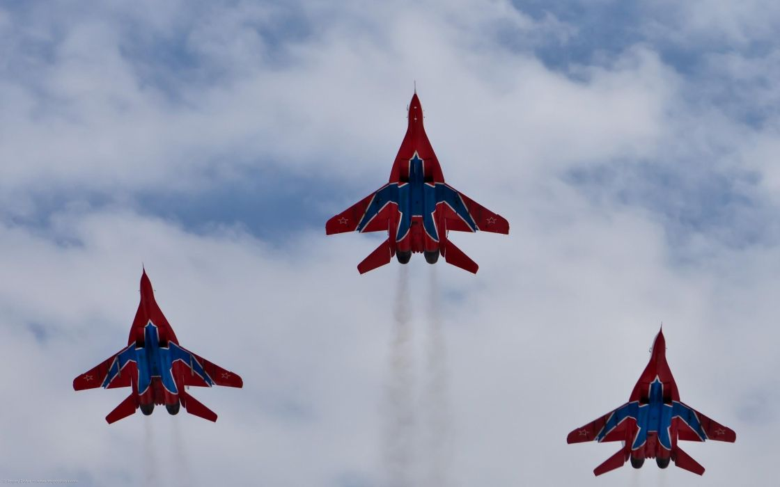 MiG-29 fighter jet military russian airplane plane mig (45) wallpaper