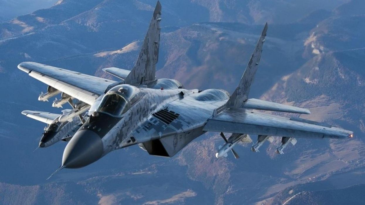 MiG-29 fighter jet military russian airplane plane mig (48) wallpaper