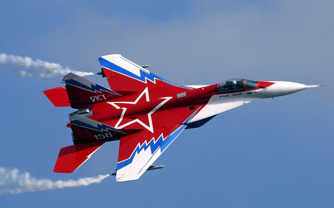 MiG-29 fighter jet military russian airplane plane mig (50) wallpaper