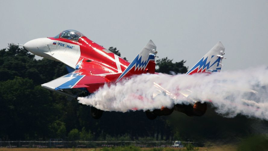 MiG-29 fighter jet military russian airplane plane mig (51) wallpaper