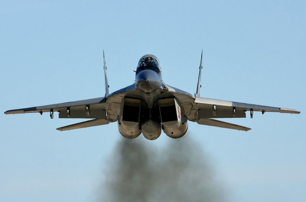 MiG-29 fighter jet military russian airplane plane mig (60) wallpaper