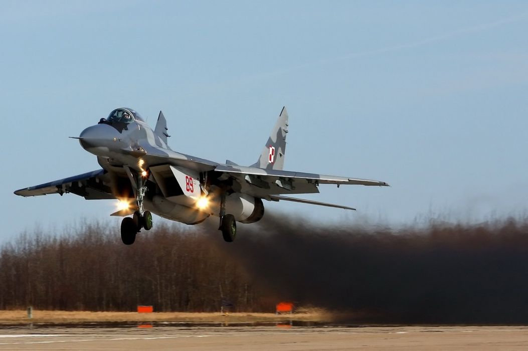 MiG-29 fighter jet military russian airplane plane mig (61) wallpaper