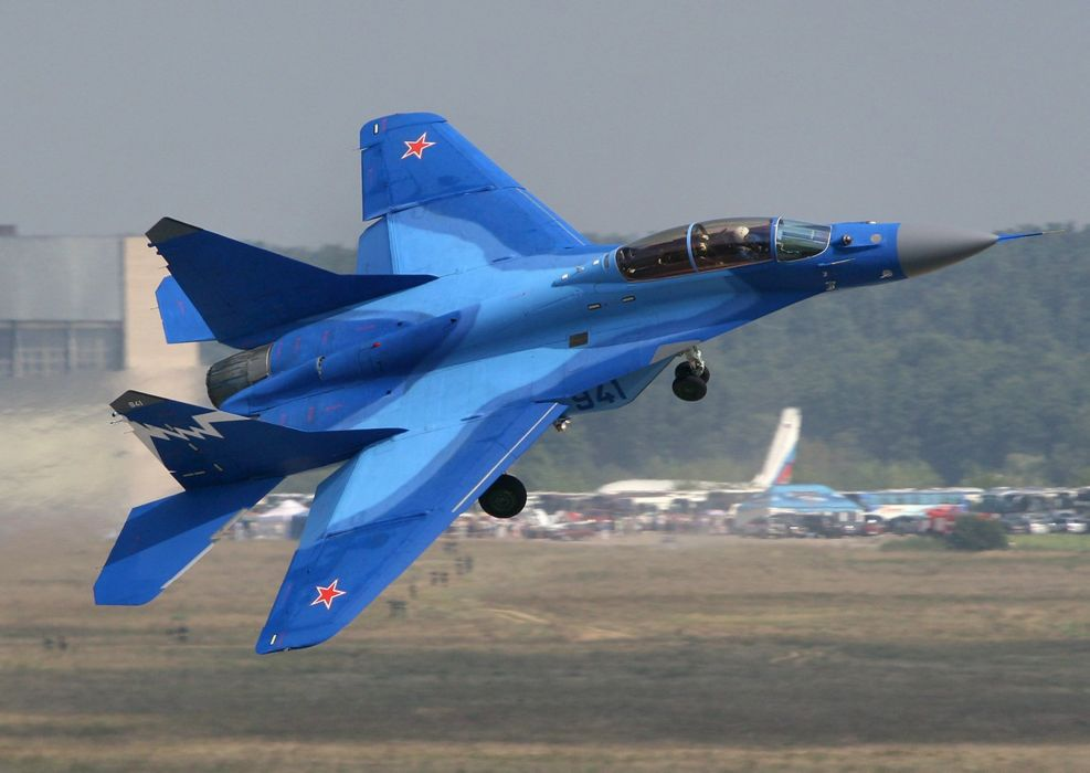 MiG-29 fighter jet military russian airplane plane mig (62) wallpaper