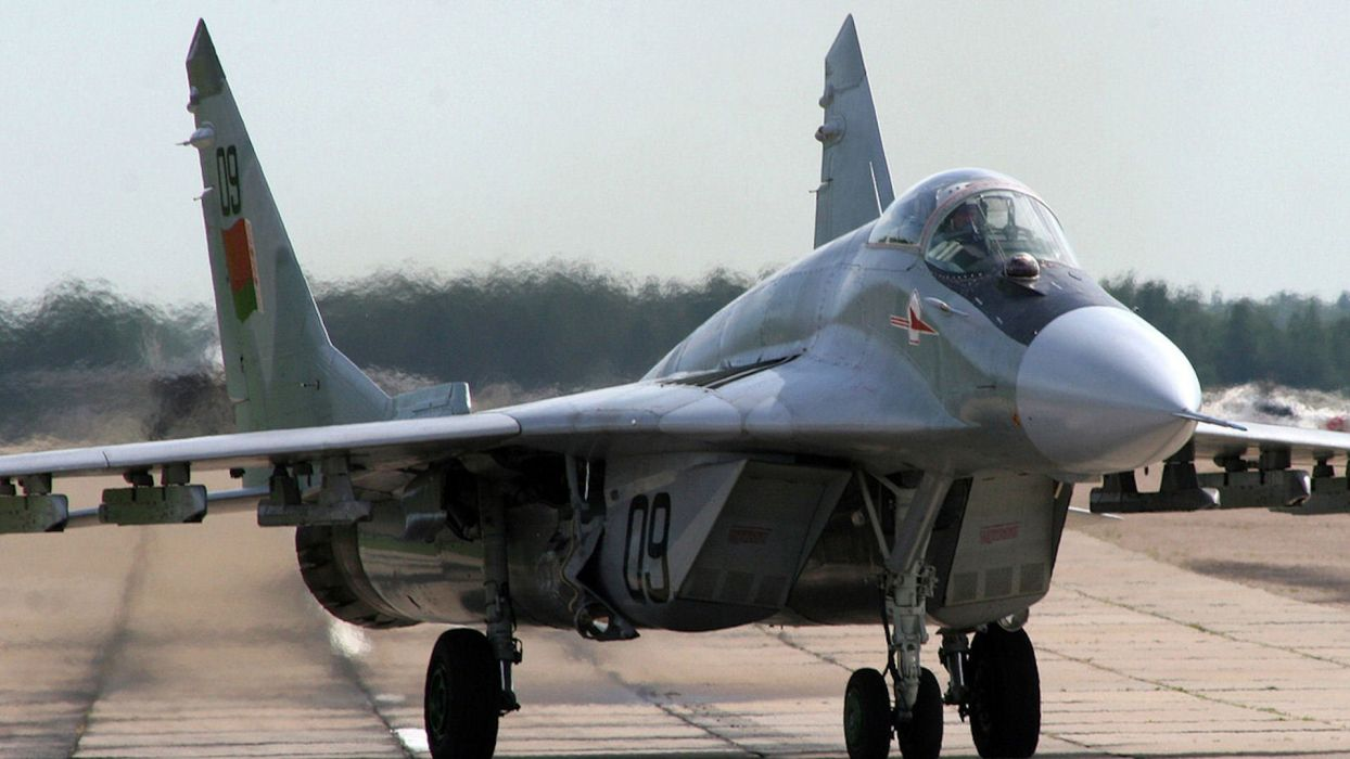 MiG-29 fighter jet military russian airplane plane mig (63) wallpaper