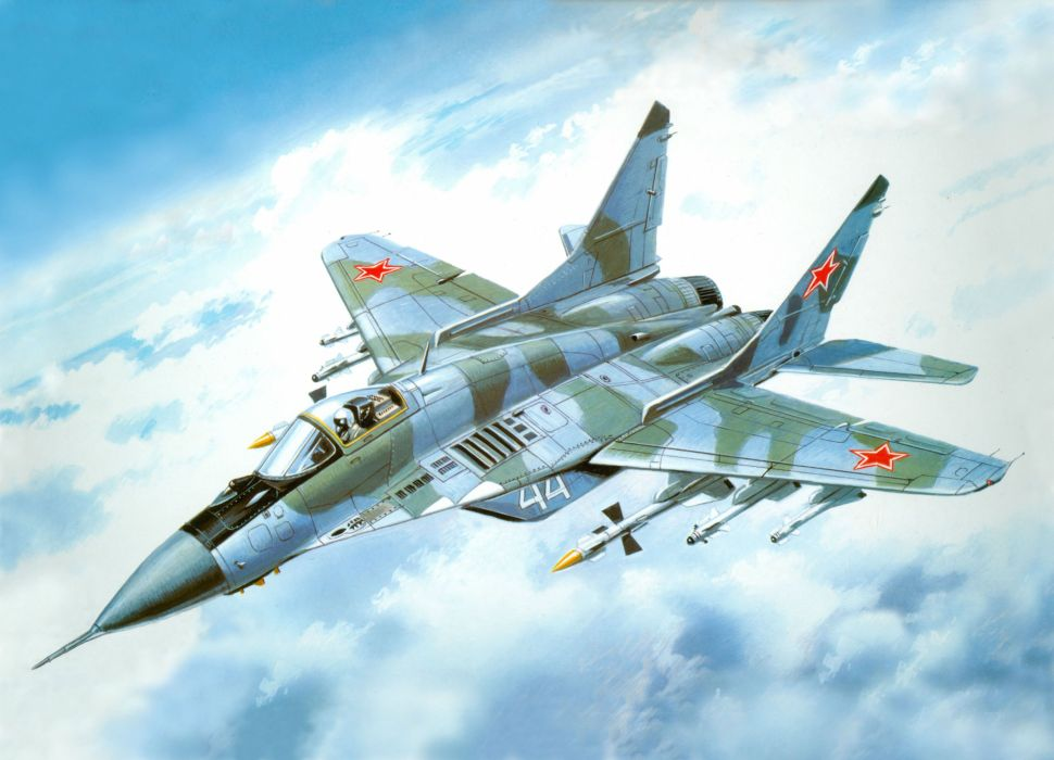 MiG-29 fighter jet military russian airplane plane mig (64) wallpaper