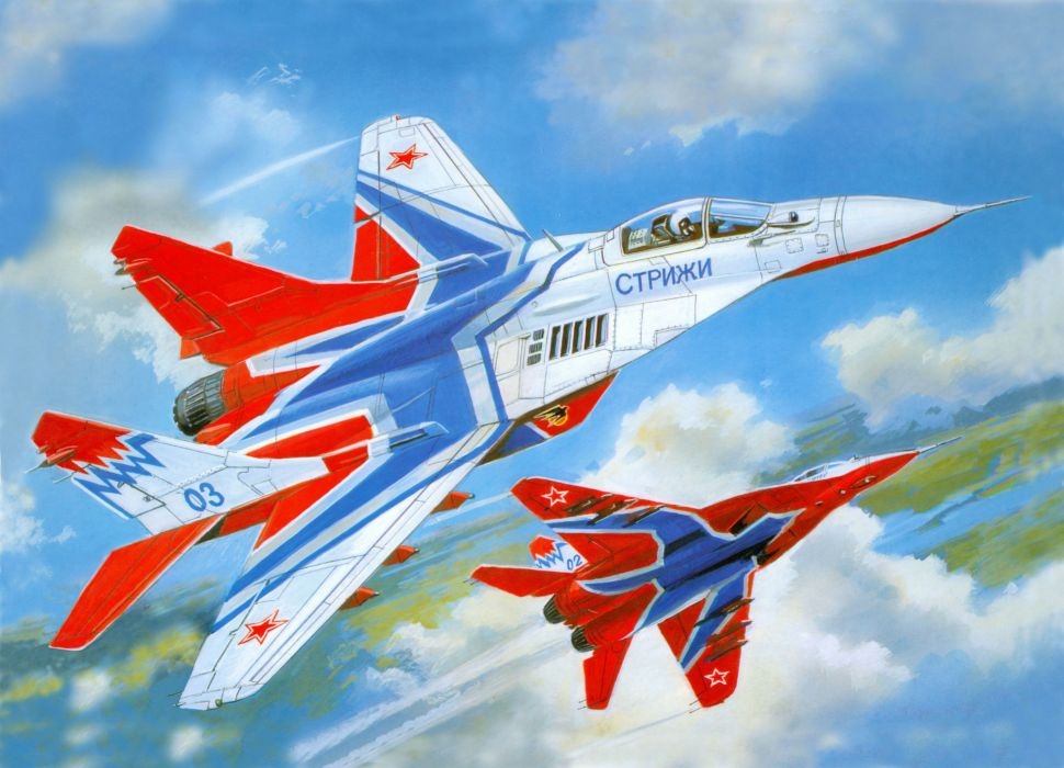 MiG-29 fighter jet military russian airplane plane mig (65) wallpaper