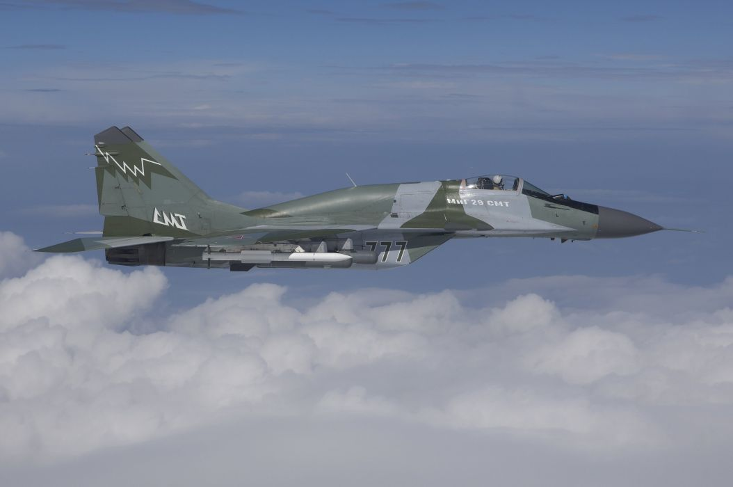 MiG-29 fighter jet military russian airplane plane mig (67) wallpaper
