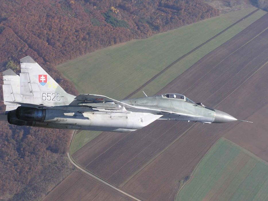 MiG-29 fighter jet military russian airplane plane mig (75) wallpaper