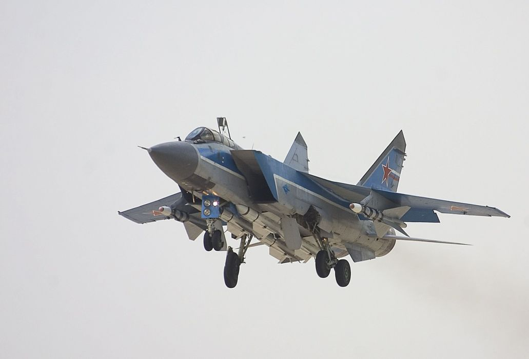 MIG-31 fighter jet military airplane plane russian mig (1) wallpaper