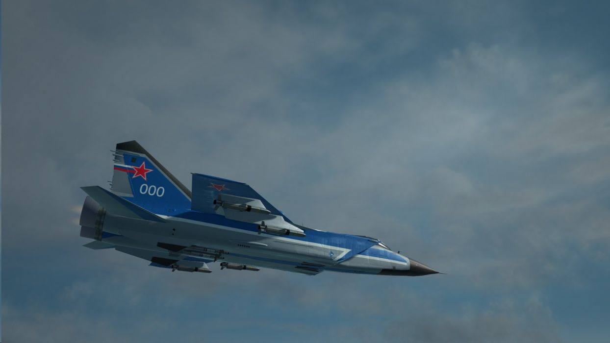 MIG-31 fighter jet military airplane plane russian mig (2) wallpaper