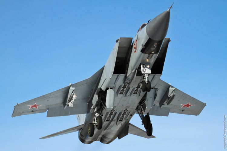 MIG-31 fighter jet military airplane plane russian mig (9) wallpaper