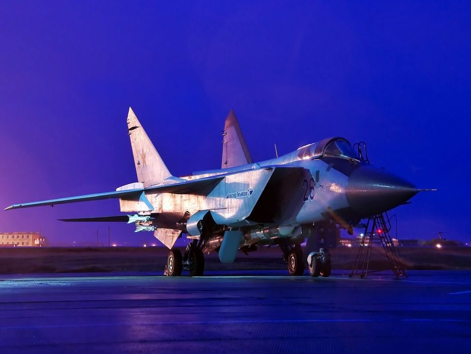 MIG-31 fighter jet military airplane plane russian mig (17) wallpaper