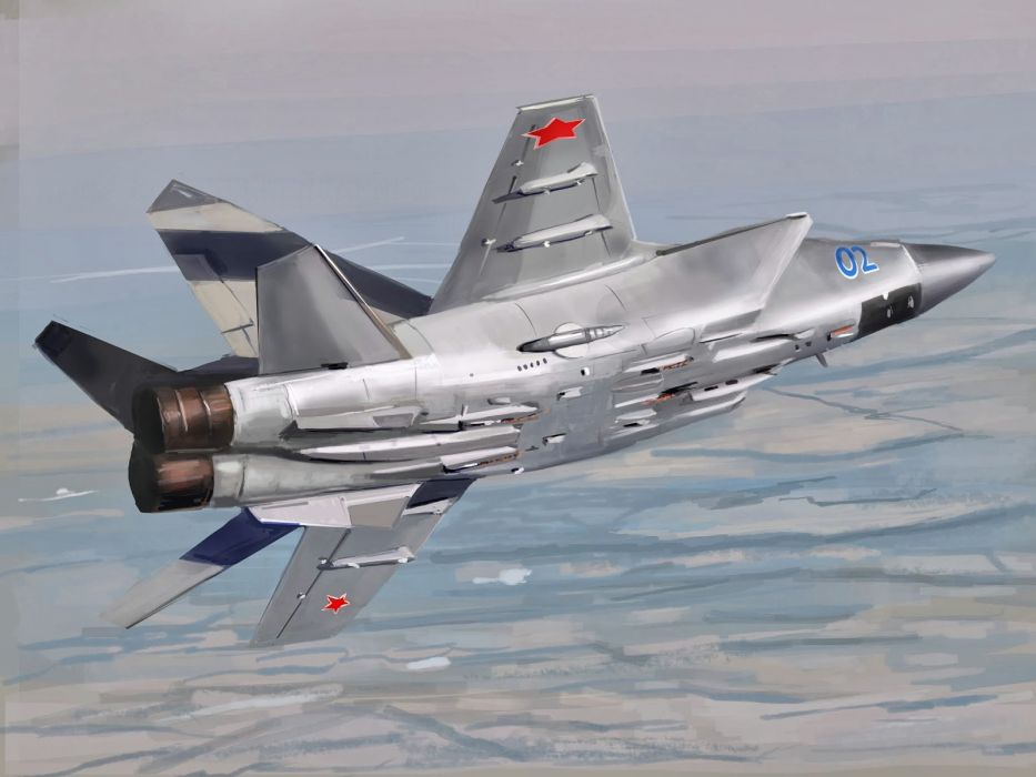 MIG-31 fighter jet military airplane plane russian mig (18) wallpaper
